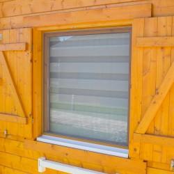 Fenster mit Mückenschutz